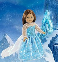 American Girl Dolls: Elsa Inspired