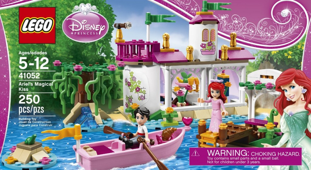 Disney Princess Ariel's LEGO Magical Kiss 41052