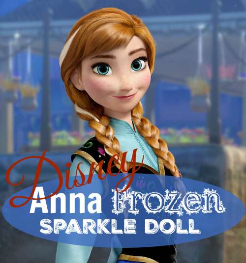 Disney Anna Frozen Sparkle Doll