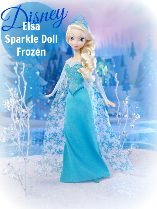 Elsa Sparkle Doll Frozen