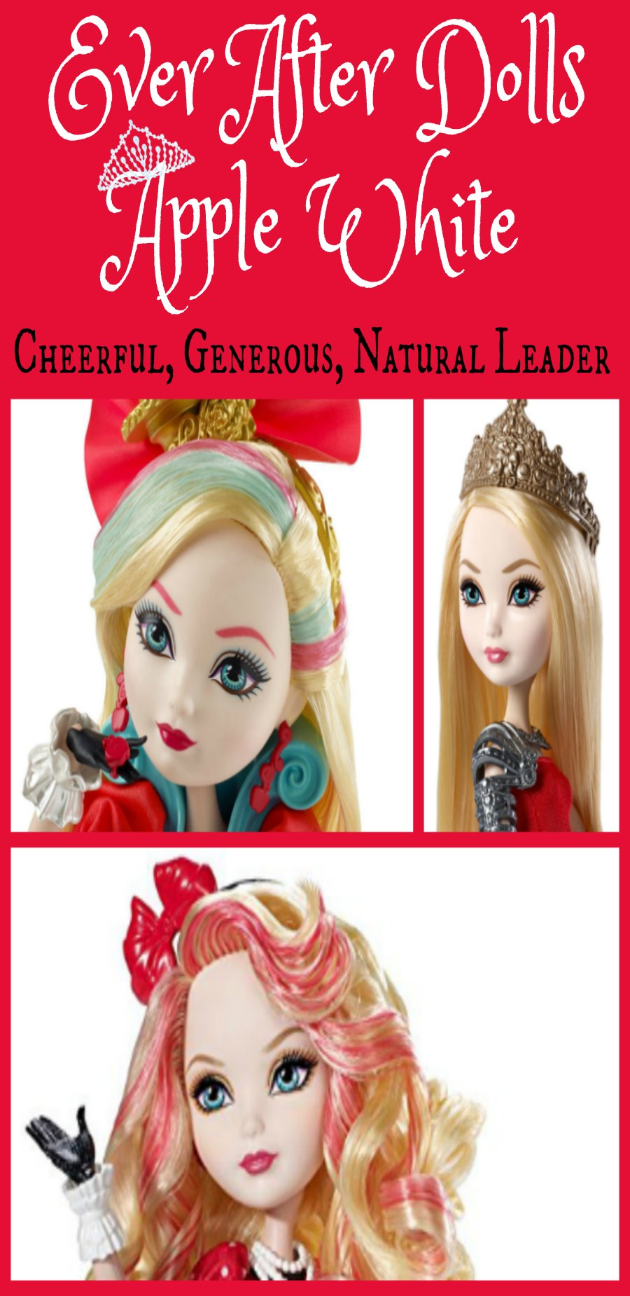 Ever After Dolls Apple White