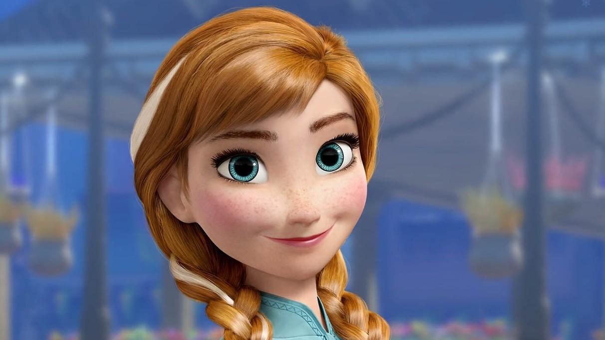 Disney Anna Frozen Sparkle Doll