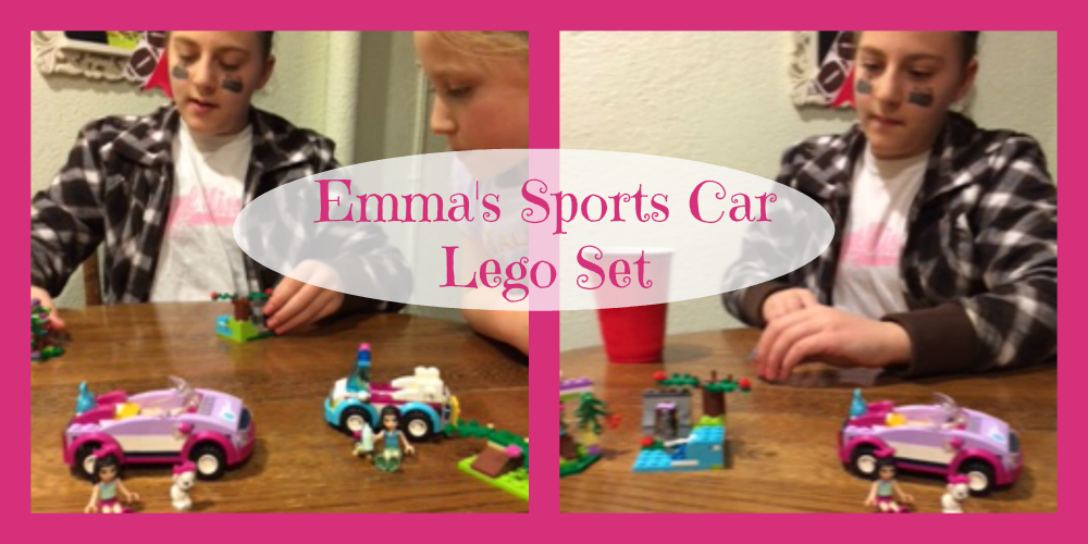 Emma's Sports Car Lego Set1