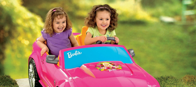 Barbie Power Wheel Mustang