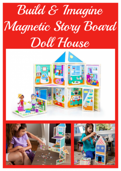 Build and Imagine Magnetic Doll House