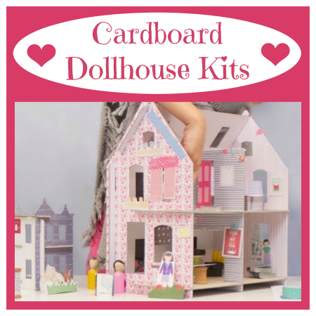 Easy To Make Cardboard Dollhouse Kits
