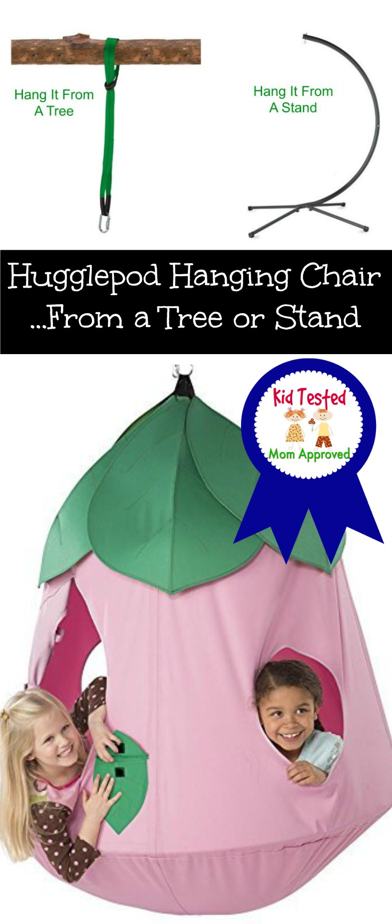 Hugglepod Hanging Chair Hang on tree or from a stand