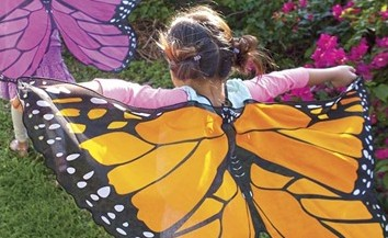 Monarch Butterfly Wings for Little Girls