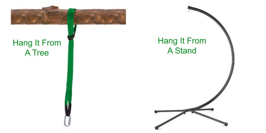 Hanging Hammock Chair For Kids
