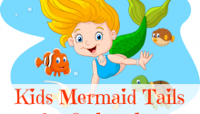 Kids Mermaid Tails for Swimming