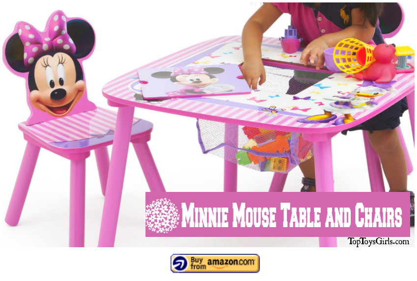 Minnie Mouse Table Chairs2