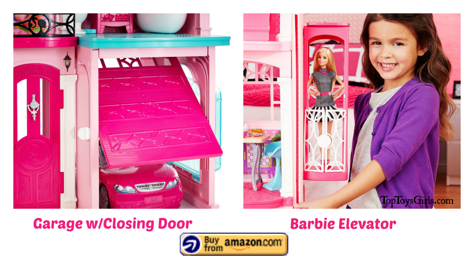 barbie dream house with elevator 8