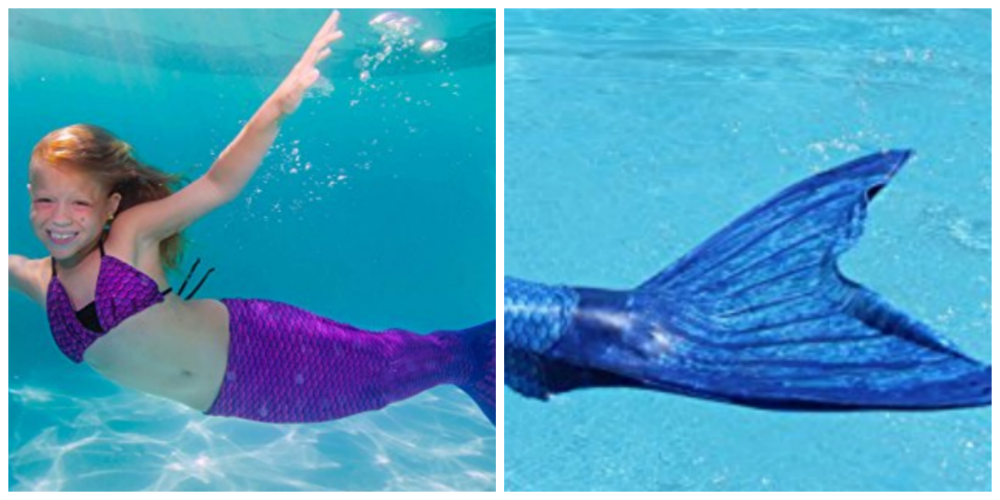 Kids Mermaid Tail for the Pool