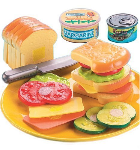 Pretend food sets for kids real looking play food Realistic play kitchen