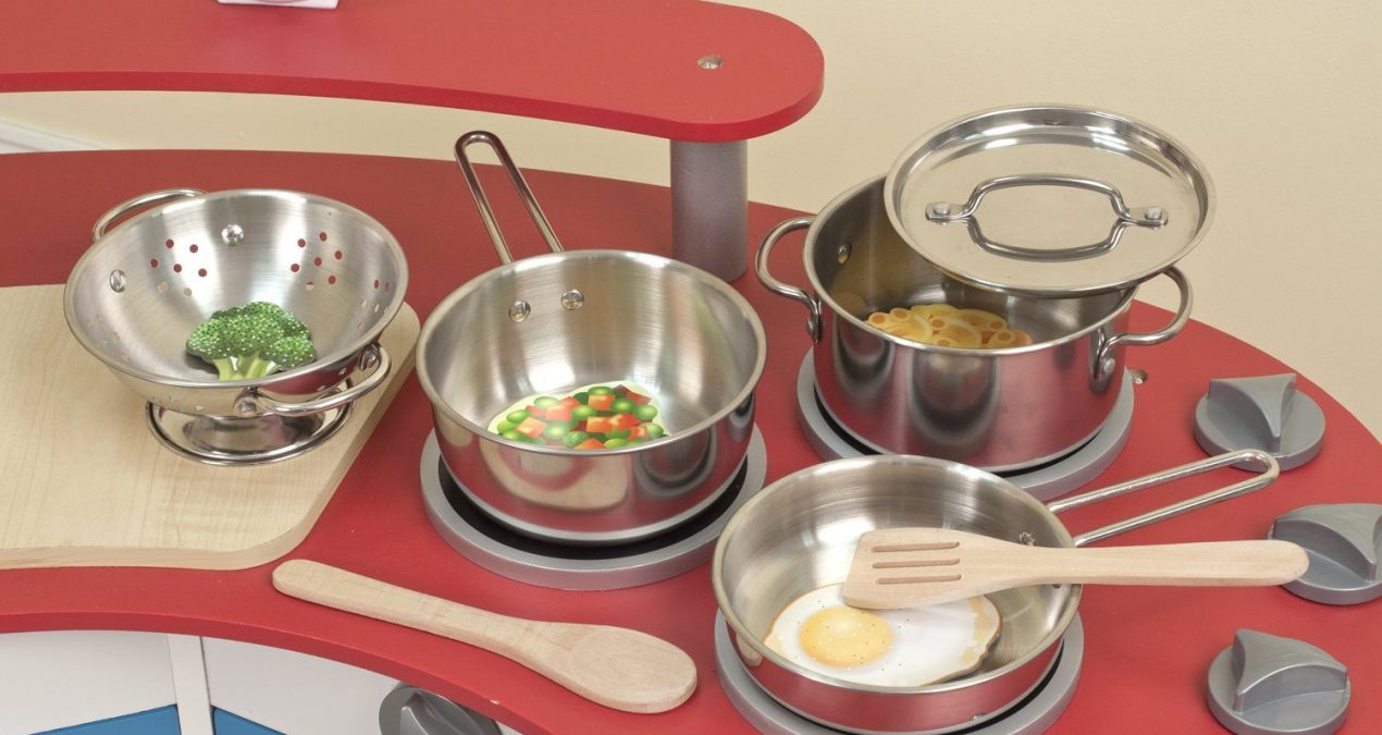 Cook Set for Kids | Pots and Pans Play Set | Get Ready To Cook