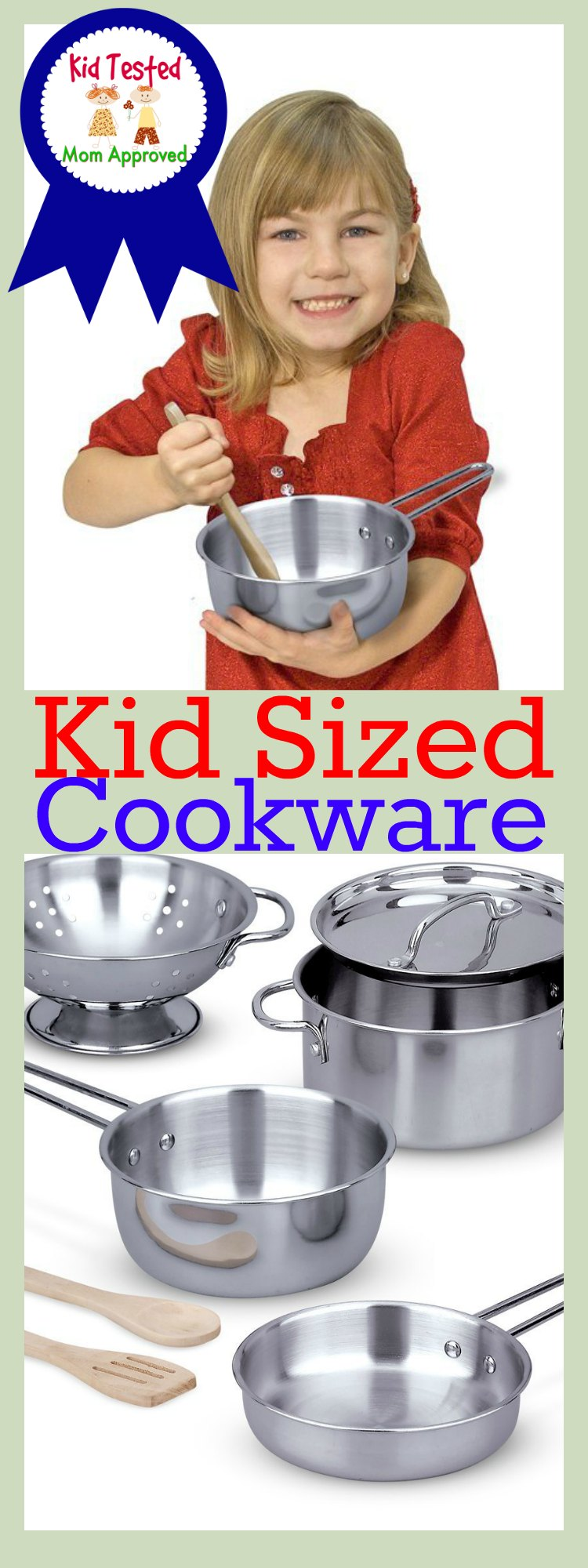 Cook Set for Kids Pots and Pans Play Set