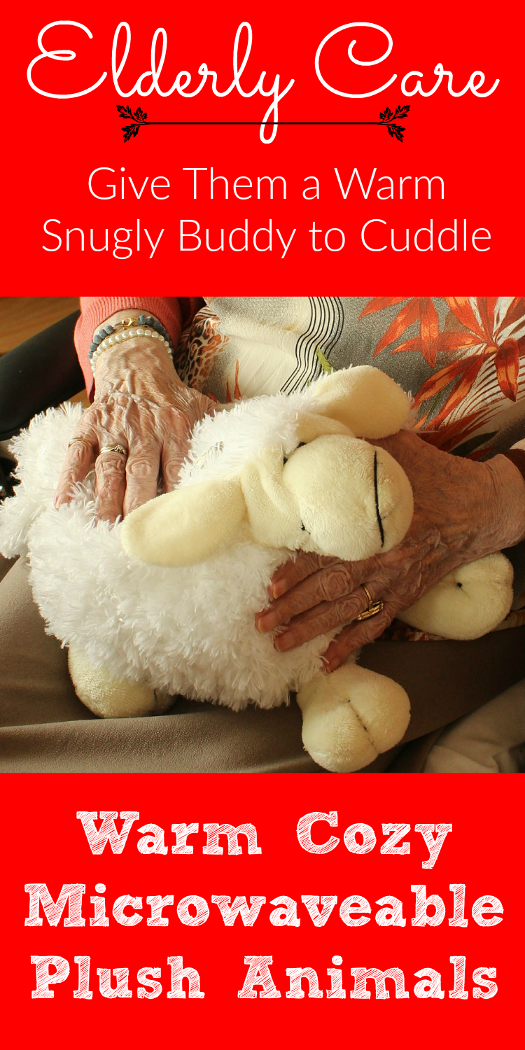 Cozy Plush Microwavable Animals the Elderly Would Enjoy Holding. Give them a warm buddy to cuddle.
