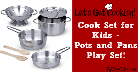 Cook Set For Kids Pots And Pans Play Get Ready To