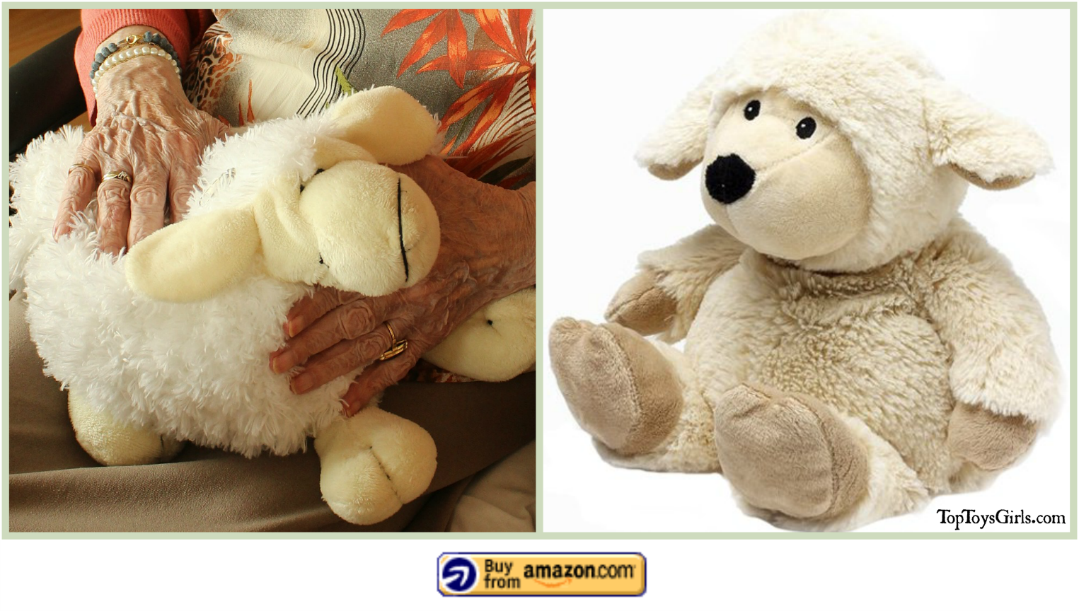 Microwave Plush Animals Are Nice for the Elderly Too