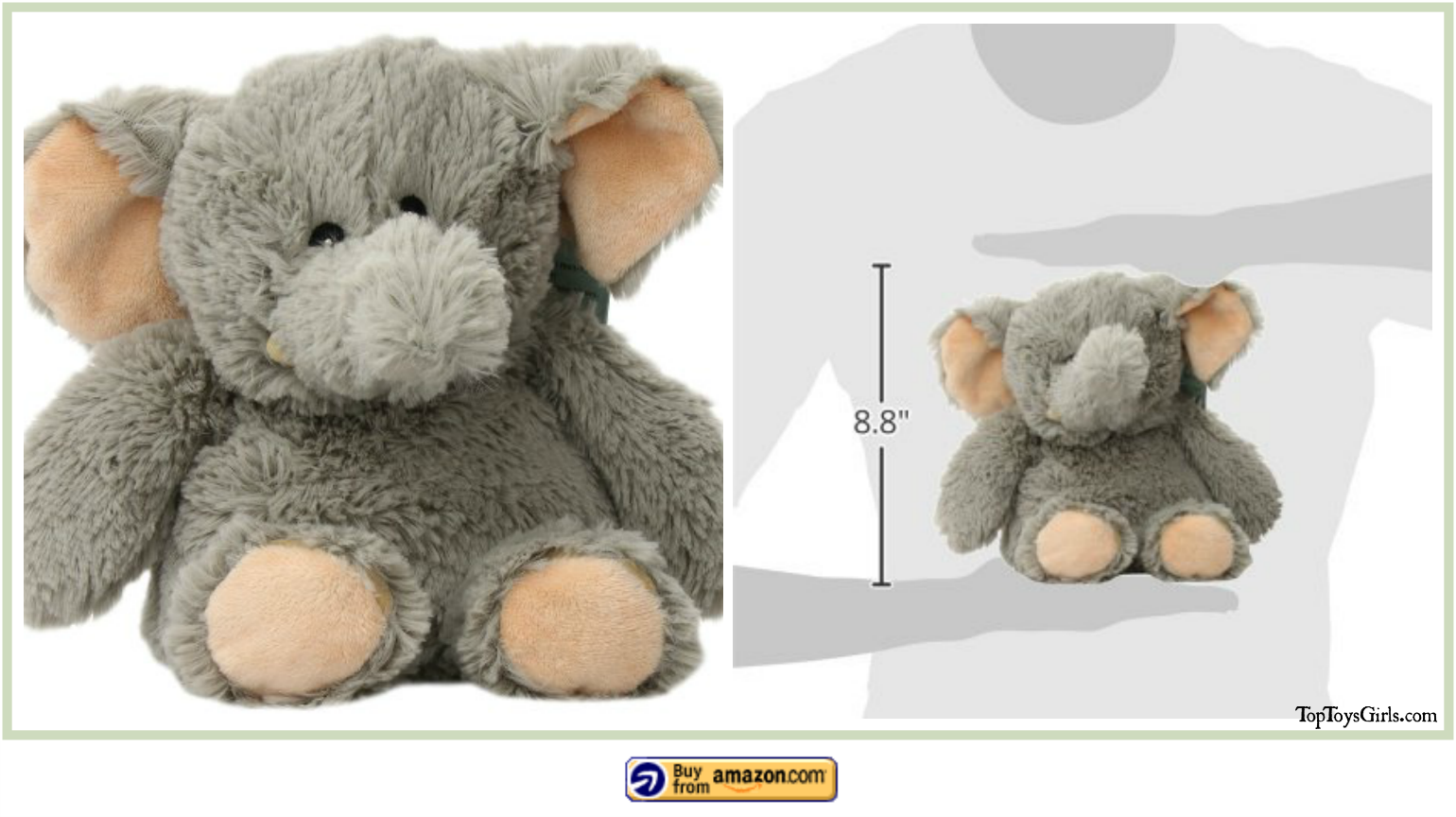 Microwave Plush Animals Elephant