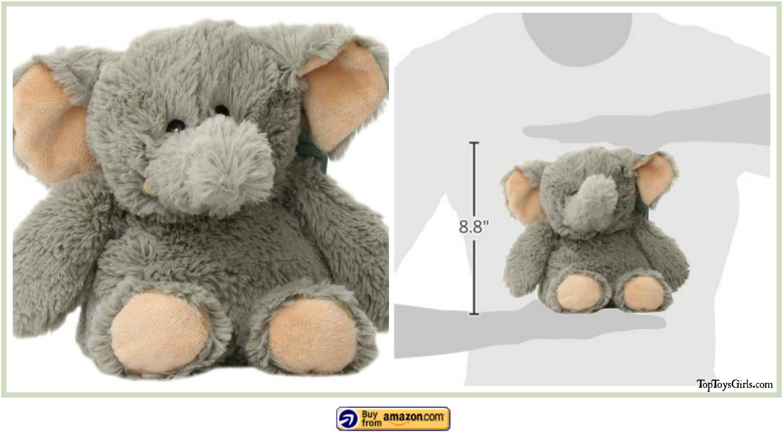 Microwave Plush Animals Elephant