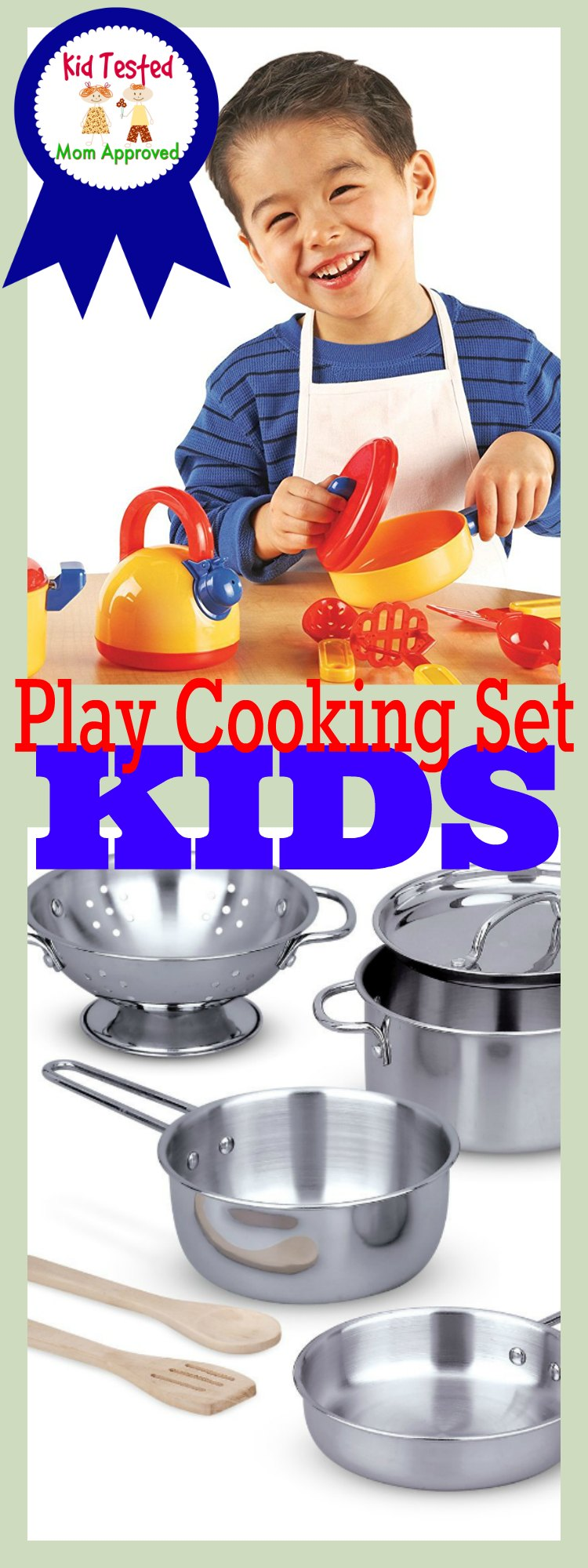 Play Cooking Set for Kids