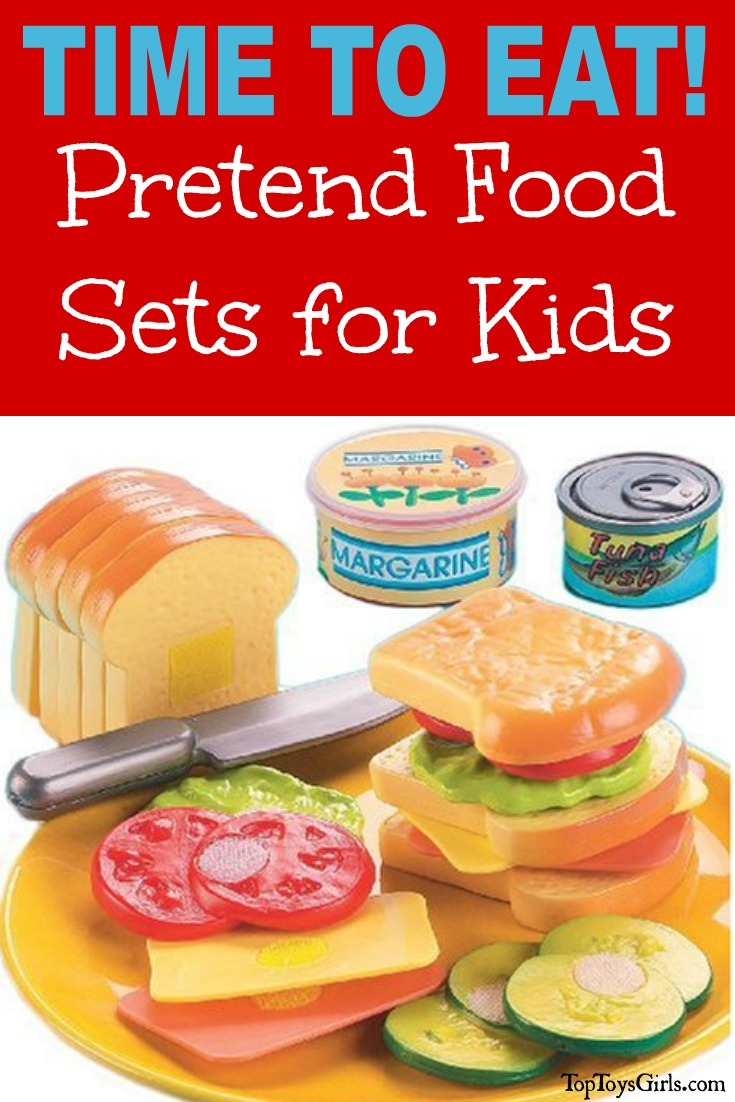 Toy Food For Toddlers : Pretend food sets for kids real looking play