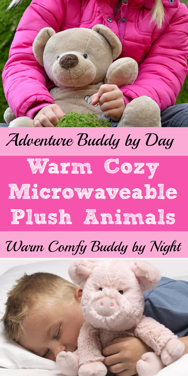 Warm Cozy Microwave Animals kids can play with and sleep with at night.