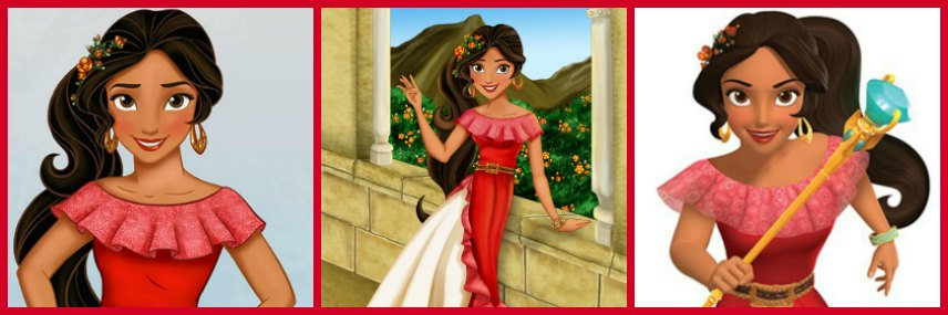 Disney Princess Elena Doll