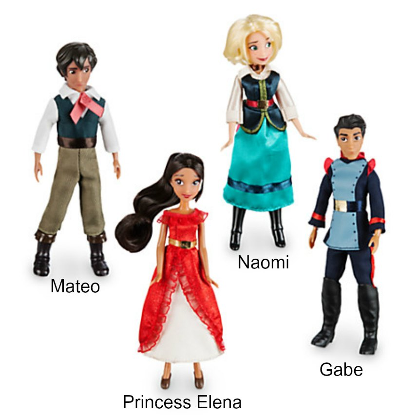 Elena of Avalor Dolls 4