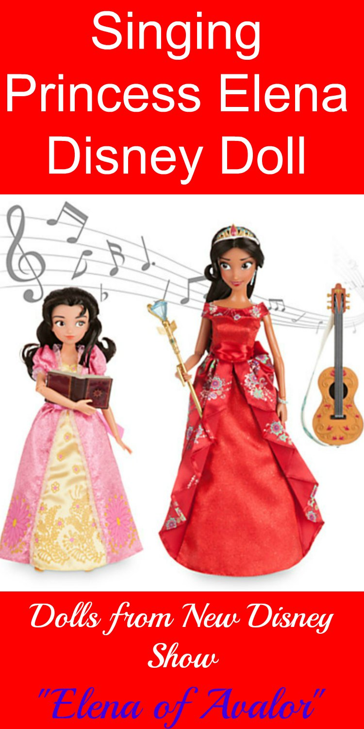 Princess Elena Disney Dolls. New Disney Princess and TV show. Debut July 22, 2016. Don't Miss it and get your dolls before they are sold out.