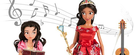 Princess Elena Disney Dolls