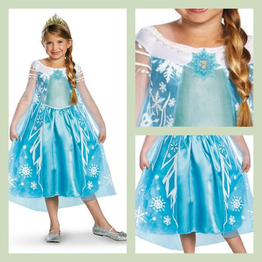 Disney's Frozen Elsa Deluxe Girl's Costume