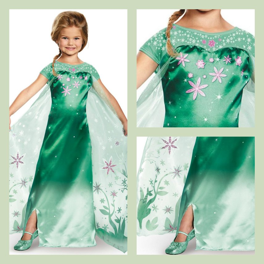 Frozen Disney Elsa Costumes – Frozen Fever