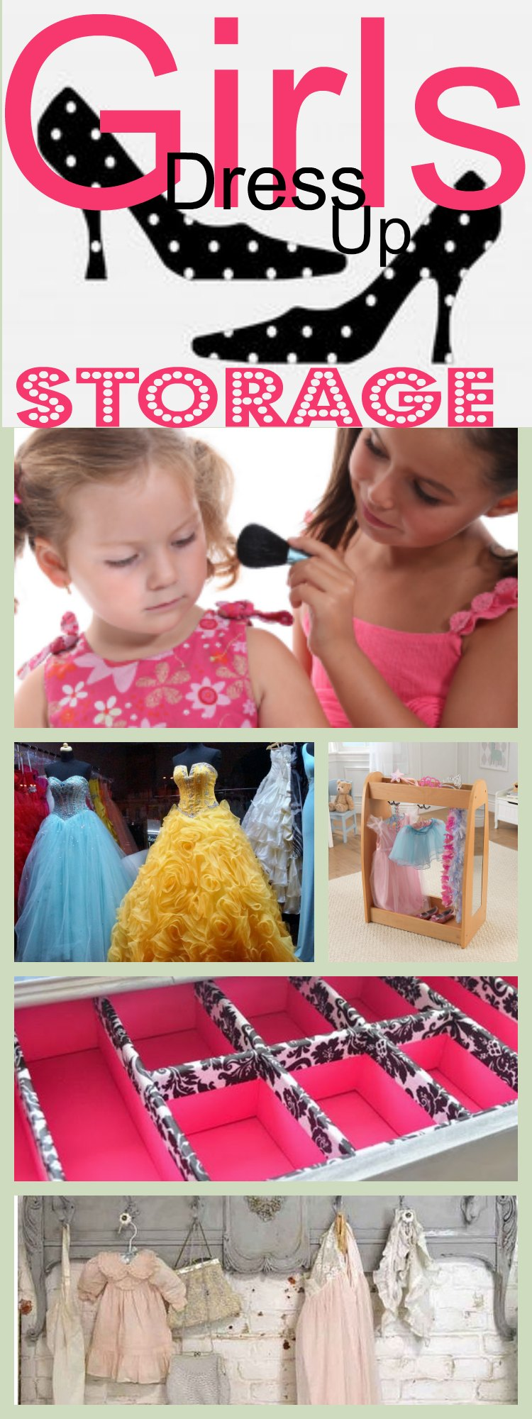 Girls Dress Up Storage