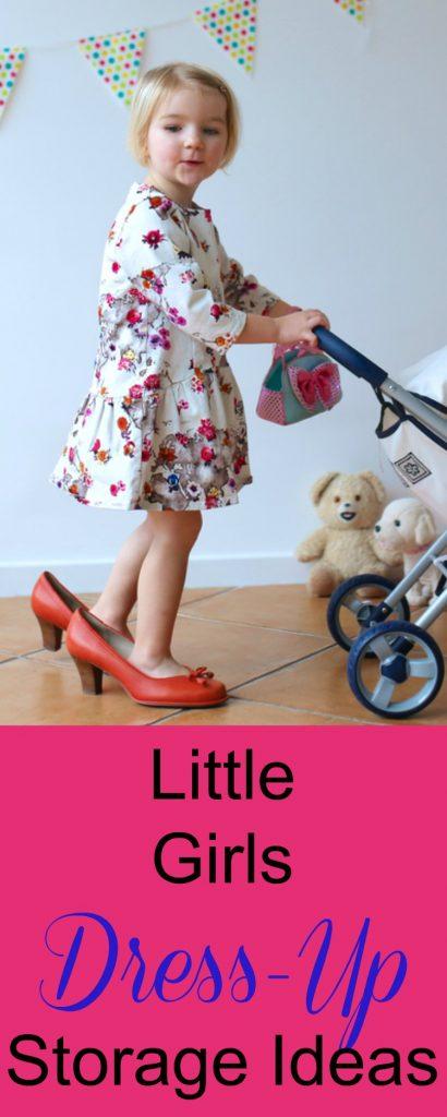 Little Girls Dress Up Storage Center Ideas