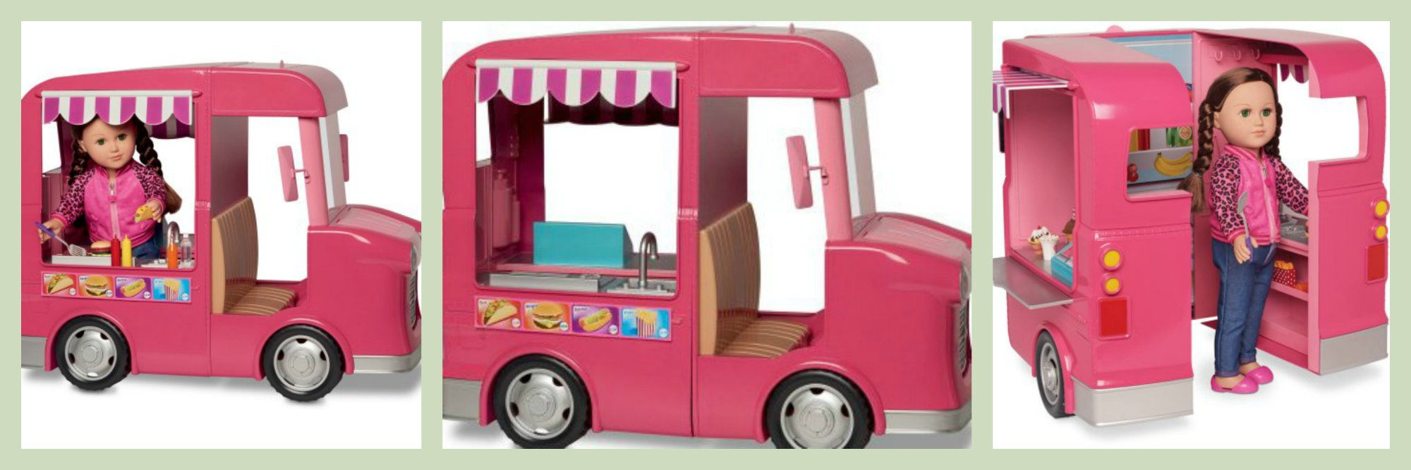 My Life As Dolls Food Truck