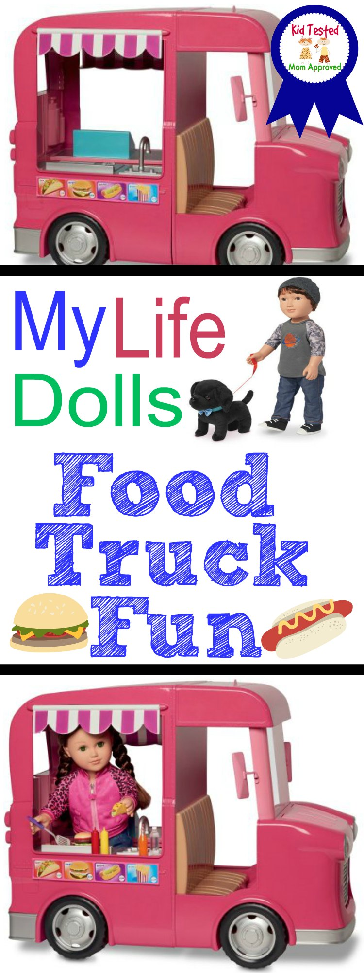 My Life As Dolls Food Truck