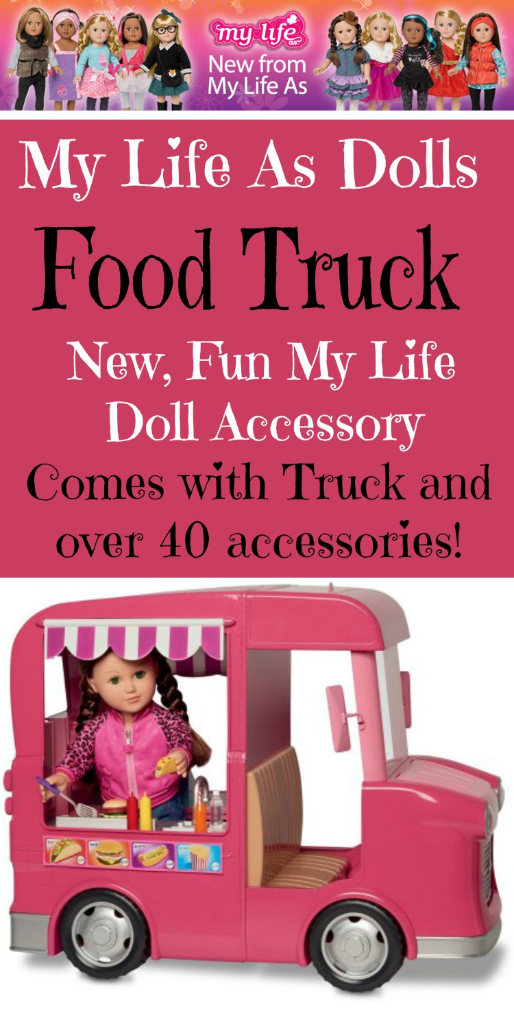 -My Life As Dolls Food Truck Pin