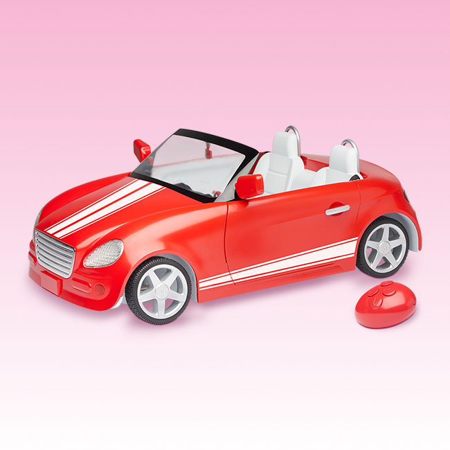 My Life Dolls Remote Control Car