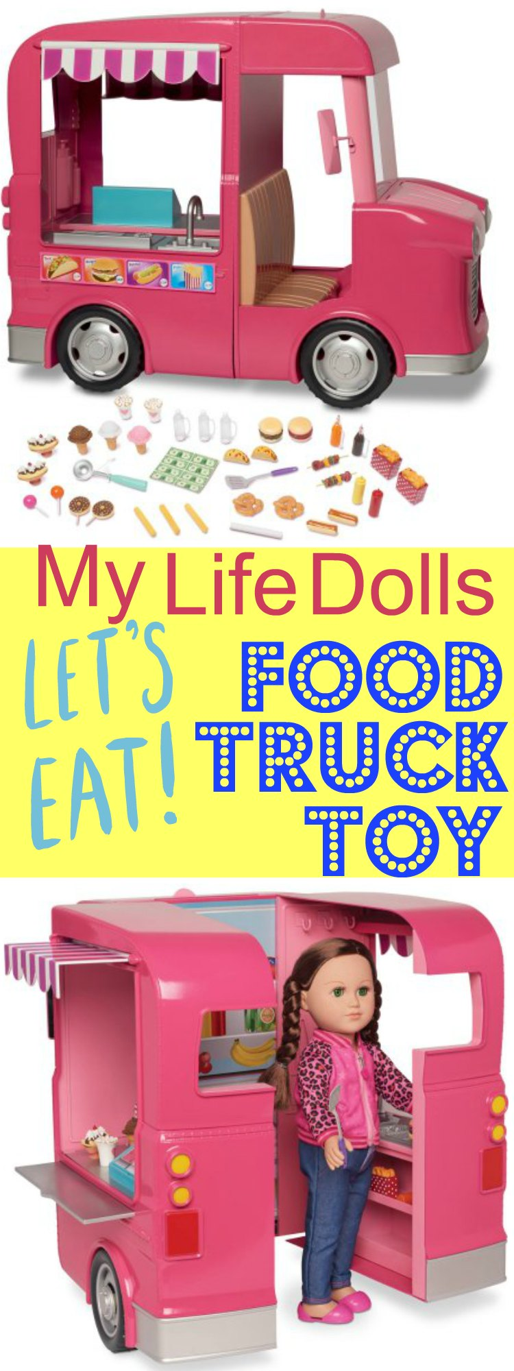 My Life Dolls Food Truck Toys