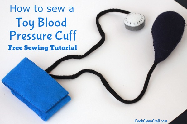 DIY Kids Doctors Kit Blood Pressure Cuff