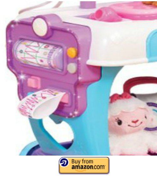 Doc McStuffins Hospital Cart EKG Print Out