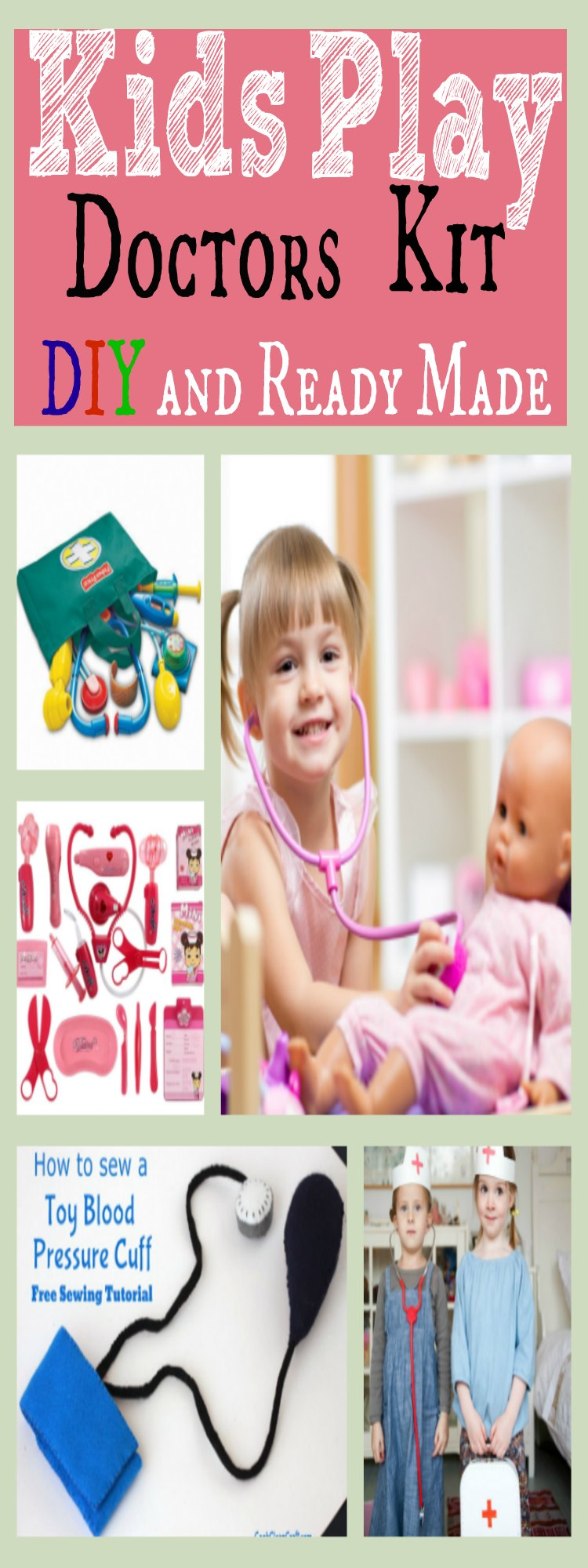 Kids Play Doctors Kit
