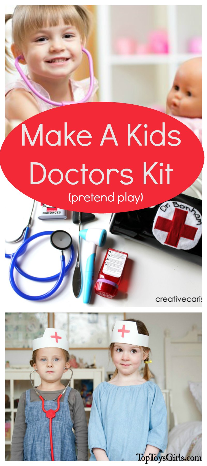 Make a Kids Doctors Kit....Just For Fun