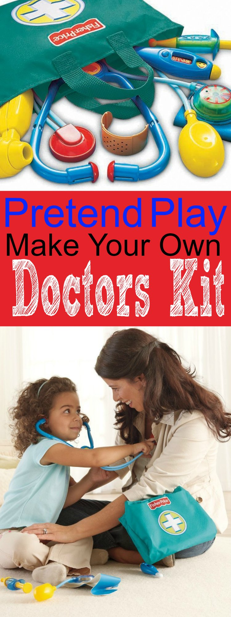 Make Your Own Doctors Kit for Kids