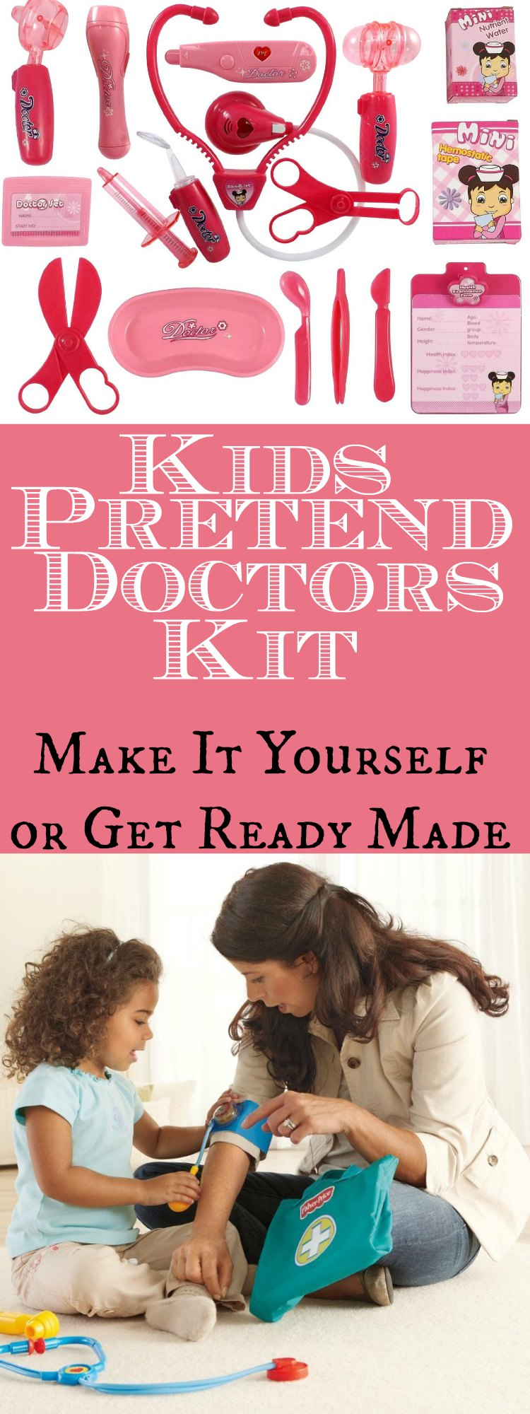 Pretend Doctors Kit