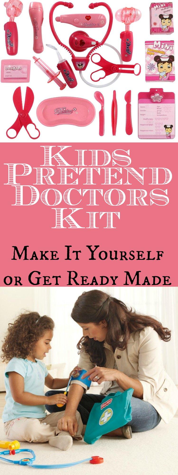 Pretend Doctors Kit
