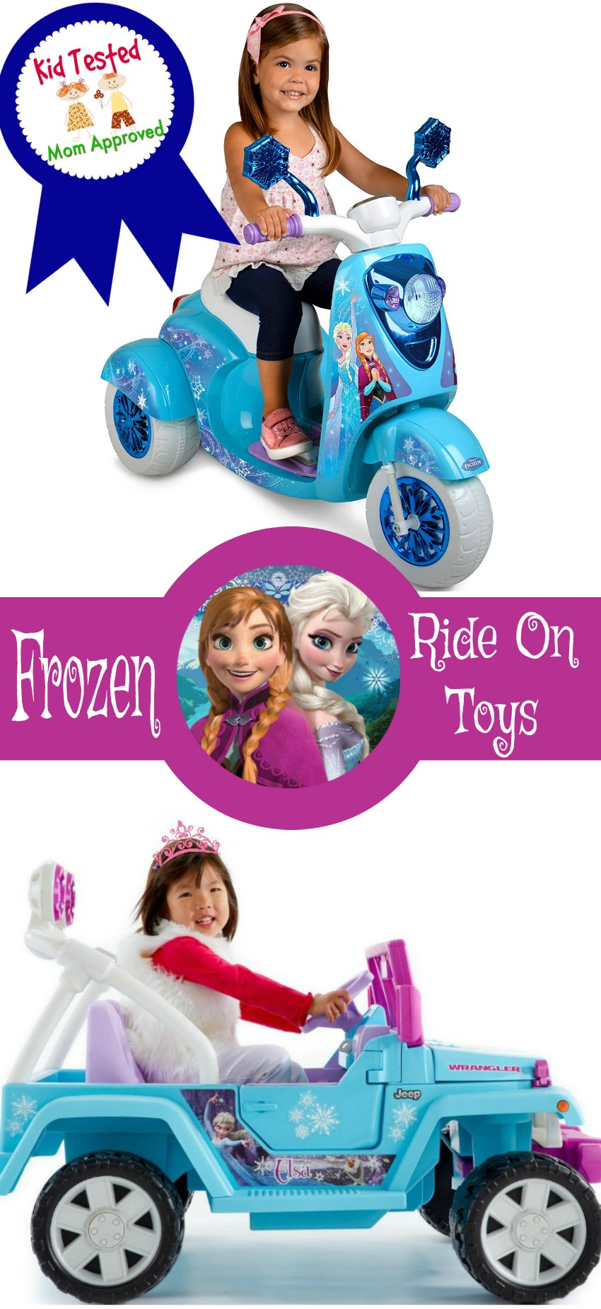 Frozen Ride on Toys