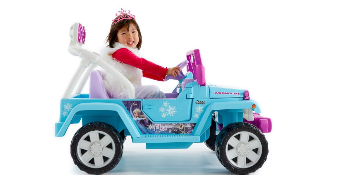 Frozen Power Wheels for Girls
